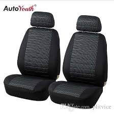 autoyouth front car seat covers airbag