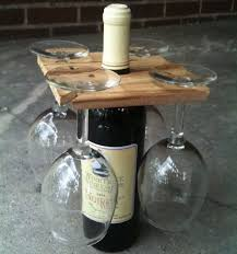 wooden wine glass rack you know you