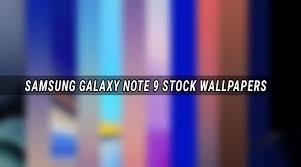 samsung galaxy note 9 wallpaper zip