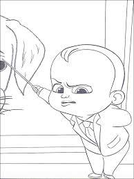 Boss Baby Kleurplaat Printen 16
