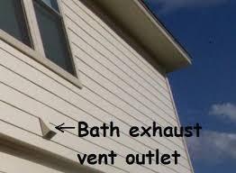 bathroom exhaust vents in your san