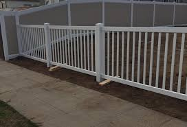 4 Foot Tall White Vinyl Closed Top Picket Fence Vinyl Pro Fence