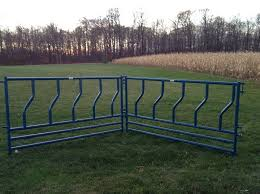 Full Length Feeder Panels For Cattle Cattle Farming Florida Farms Cattle Feed