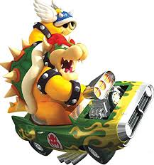 Amazon Com 7 Inch Bowser Super Mario Kart Wii Bros Brothers Removable Wall Decal Sticker Art Nintendo 64 Snes Home Kids Room Decor Decoration 7 By 7 1 2 Inches Home Kitchen