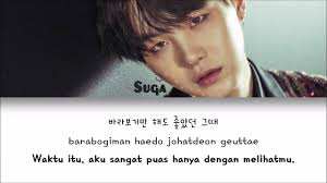 lyrics bts kpop r eng indo first love suga bts wattpad