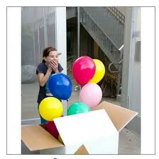 big gift balloon box fancy gift bo
