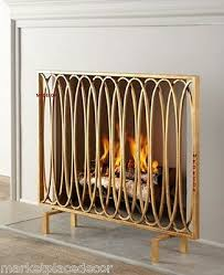 fireplace fire screen flat panel