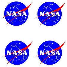 Nasa Seal Usa Space Cosmos Logo Vinyl St Buy Online In Jamaica At Desertcart
