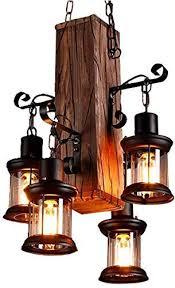 zenghh wooden creative pendant lamp