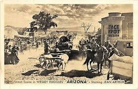 COWBOY MOVIE ARIZONA 1940 Premiere Postcard Wesley Ruggles Starring Jean  Arthur - $4.35 | PicClick