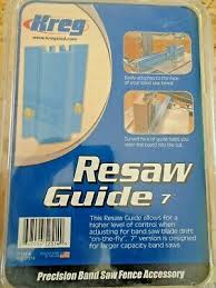 Kreg 7inch 178mm Precision Resaw Band Saw Guide Kms7214 Made In The Usa 647096525149 Ebay