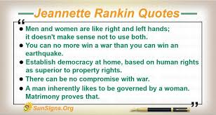 Jeannette Rankin Biography, Life, Interesting Facts