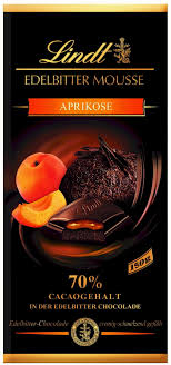 lindt dark chocolate apricot mousse