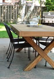 diy outdoor table diy outdoor table