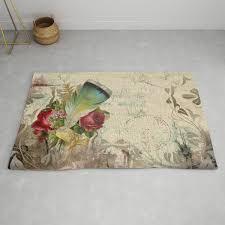 vintage boho chic rug by lauragordon