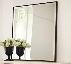 upton mirror wood framed mirror