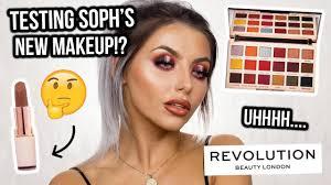 soph x makeup revolution extra e