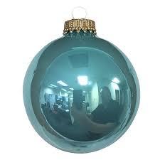 designer seamless glass ball ornament