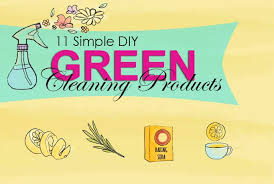11 simple diy green cleaning s