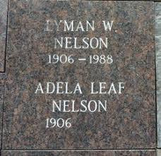 Adela Leaf Nelson (1906-Unknown) - Find A Grave Memorial