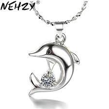 pendant necklace animal cobalt oxide