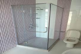 bathroom glass partition shower glass