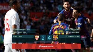 Sevilla vs Barcelona [2-4], La Liga 18/19 - MATCH REVIEW - YouTube