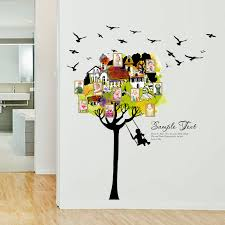 China Sk9210 Tree House Picture Frame Wall Sticker China Window Sticker And Home Decoration Price