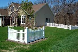 Schmidt Fence Deck Corner Landscaping Picket Fence Front Yard Fence