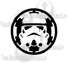 First Order Trooper Star Wars Vii Bumper Sticker Window Truck Decal Vinyl Rainbowlands Lk