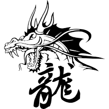 Chinese Dragon And Symbol Wall Sticker Decal World Of Wall Stickers
