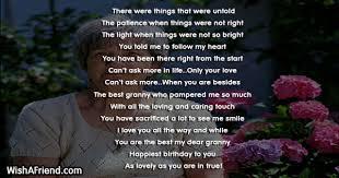 were untold grandmother birthday poem