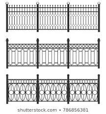 Metal Fence Images Stock Photos Vectors Shutterstock