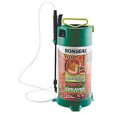 Ronseal Precision Finish Fence Sprayer 5ltr Fence Paint Screwfix Com