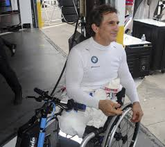 Alex Zanardi takes center stage as he wheels around Daytona