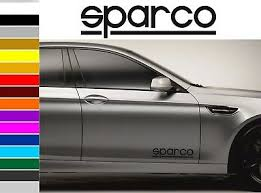 Sparco Car Body Tuning Custom Vinyl Sticker Decal Graphic 2 Stickers Ebay