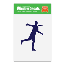 Disc Golf Player Male Car Window Decal Walmart Com Walmart Com