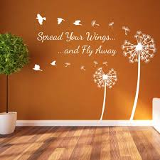 Spread Your Wings Fly Vinyl Wall Stickers Decals 573 For Sale Online Ebay