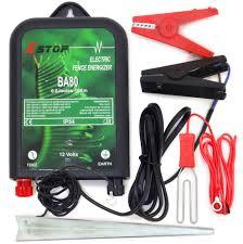 Electric Fence Energiser 12v Battery Powered 0 6j 10km Horse Paddock Fencing 5060560828495 Ebay