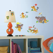 Roommates 5 In W X 11 5 In H Lion Guard 30 Piece Peel And Stick Wall Decal Rmk3174scs The Home Depot