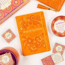 sunrise orange diary planner journal big adventures