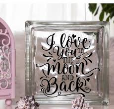 Diy Decal For Glass Blocks When Someone We Love Inspirational Vinyl Decal Home Garden Decor Decals Stickers Vinyl Art