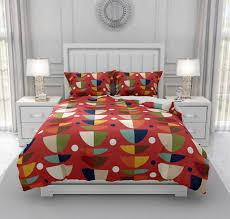mid century modern comforter duvet