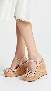 shoes louna strappy wedge sandals
