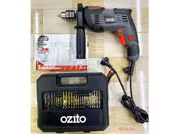 Máy khoan điện với 51 phụ kiện Ozito HDR-1100 - META.vn