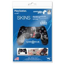 Ps4 Controller Skin Tech Decals God Of War Back To Back