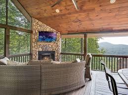 6 decks outdoor fireplace hot tub