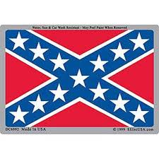 Confederate Flag Rebel Flag Sticker Car Decal Sticker Rebel Flag Confederate Flag Dixie Flag Civil War Stars And Bars Battle Flag Confederate Flag For Sale