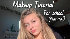 natural makeup routine for