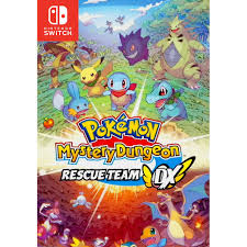 Thẻ Game Pokemon Mystery Dungeon Rescuse Team DX Nintendo Switch Mới New  Seal